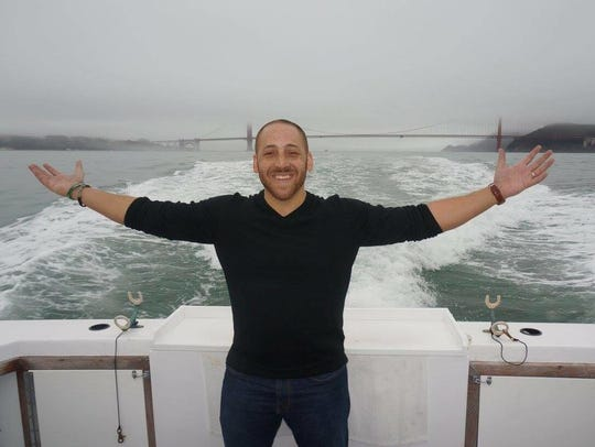 Kevin Hines, who survived a jump from the Golden Gate