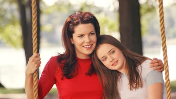 Lauren Graham, left, and Alexis Bledel,  will reprise their mother-daughter team of the WB and CW series, seen here, on Netflix's 'Gilmore Girls: A Year in the Life,' due Nov. 25.
