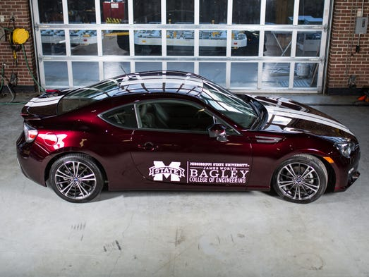 Mississippi State University's Car of a Future.