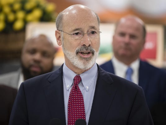 Overtime Expansion-PennsylvaniaGov. Tom Wolf