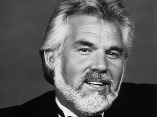 Kenny Rogers in the 1980s.