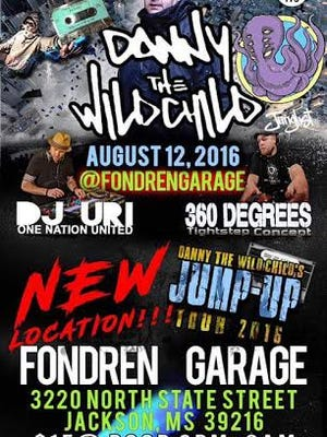 The flyer for the rave that was scheduled for Friday night at Fondren Garage. The event has since been canceled.