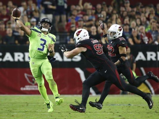 Seahawks vs Cardinals 2017