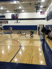 Action from Thursday's game pitting Seton CC against
