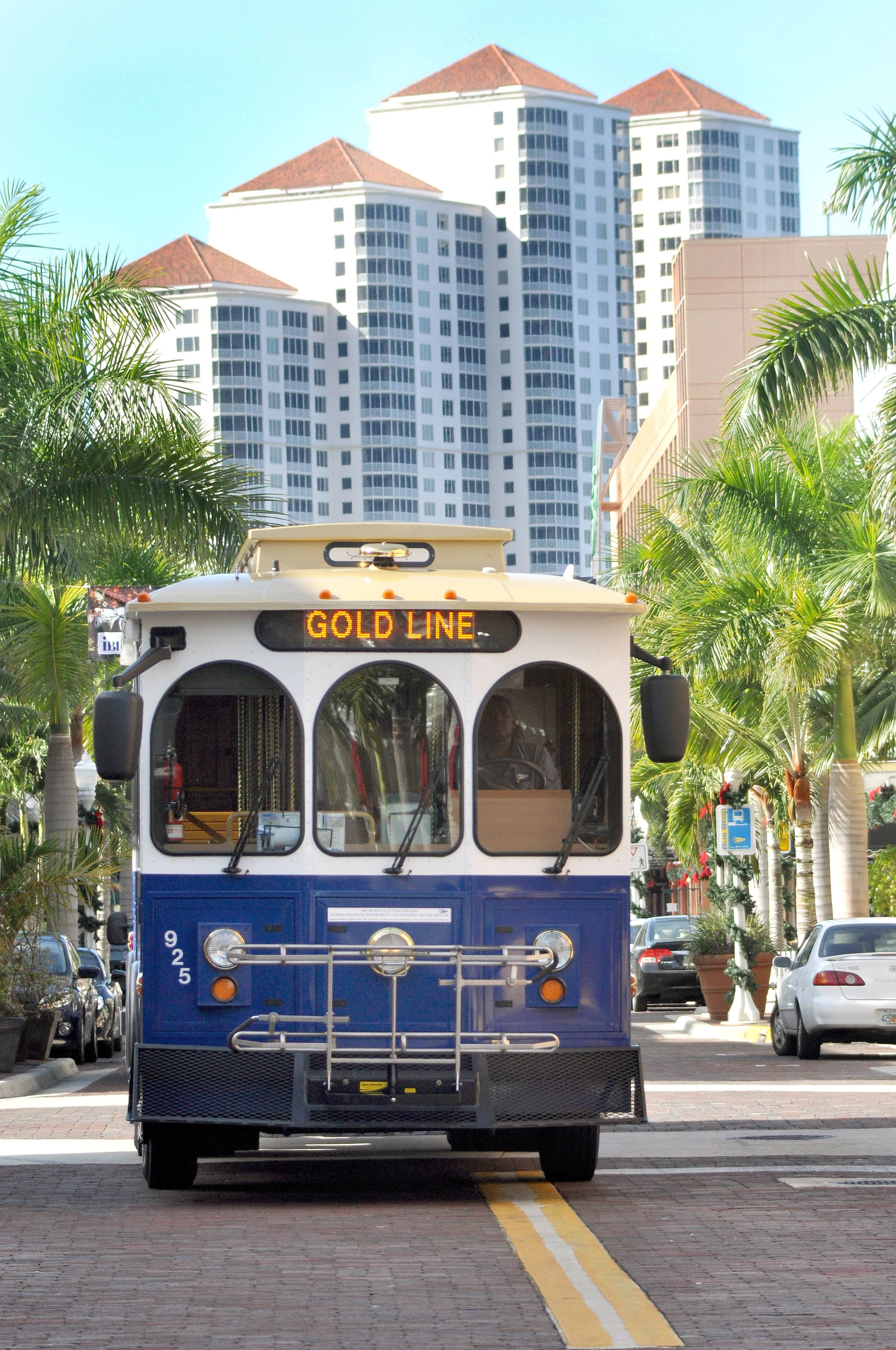 Trolley links North Fort Myers downtown River District