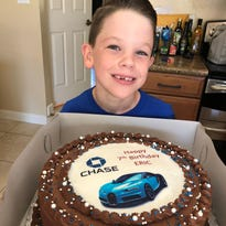 Phoenix boy 'obsessed' with banks throws 7th birthday party at Chase Bank