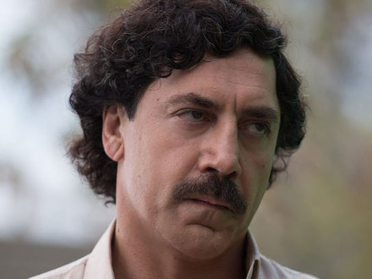 Javier Bardem plays the fear-inducing drug cartel boss,