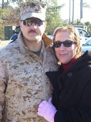 Hackett and wife