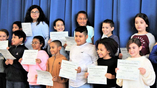 Fallsburg's Benjamin Cosor Elementary School (BCES) filled the school auditorium/cafeteria with proud parents, siblings, grandparents and friends to acknowledge students receiving Honor Roll and Superintendent's Honor Roll Certificates.