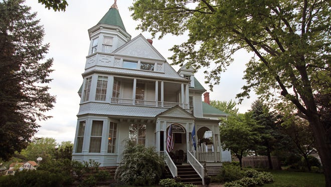 The Phipps Inn Bed & Breakfast is housed in an 1884 Queen Anne Victorian mansion in Hudson.