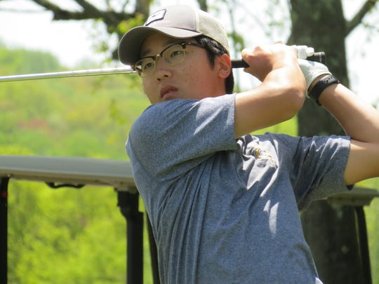 Chan Park was one of two seniors from Northern Valley at Old Tappan to earn 2018 first-team All-State Boys Golf by the New Jersey Section PGA.