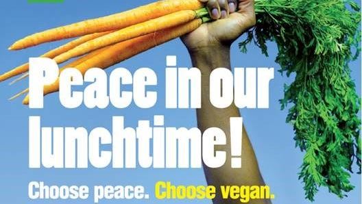 PETA plans to put up a Peace in our Lunchtime billboard in Detroit