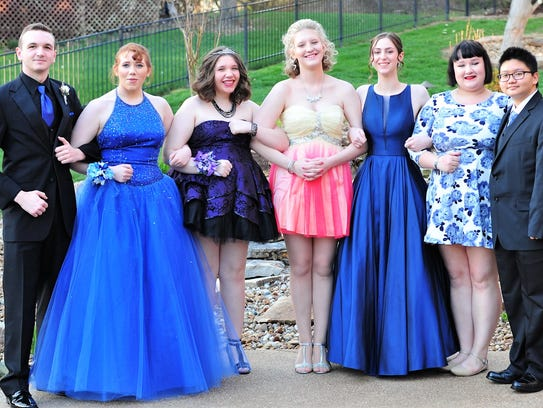 New Tech Prom – A group of friends got together to