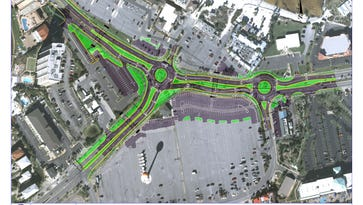 Escambia County Commission approves finishing design work of beach roundabouts