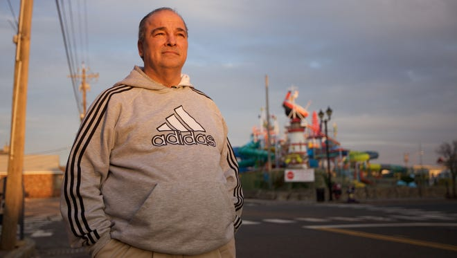 Seaside Heights Mayor William Akers shared the story of his son's struggle with heroin addiction and overdose death in the hope of helping others.