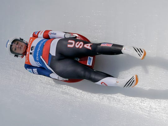 Glen Rock's Summer Britcher finished seventh Sunday in a World Cup women's singles sprint luge race in Latvia.