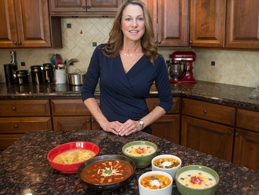Robin Miller soup recipes for National Soup Month