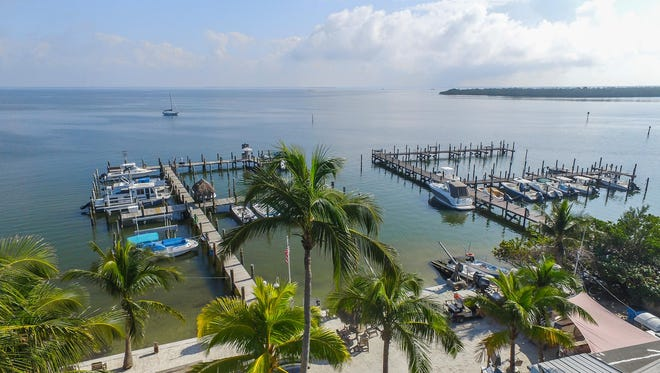 Jensen's Twin Palm Cottages and Marina are now for sale.