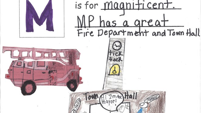 Artwork submitted by Ginny Hussey's third-grade class at Morris Plains Borough School.