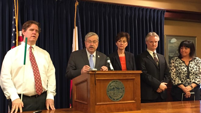 Gov. Terry Branstad has proposed extending an existing one-cent sales tax for another 20 years to fund water quality issues.