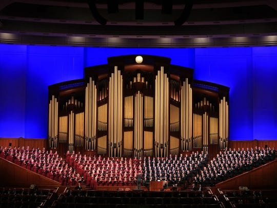 The Mormon Tabernacle Choir is based out of Salt Lake
