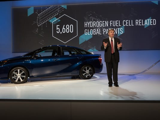 Toyota offers hydrogen patents for free