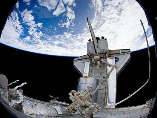 AFP US-SPACE-SHUTTLE-ISS