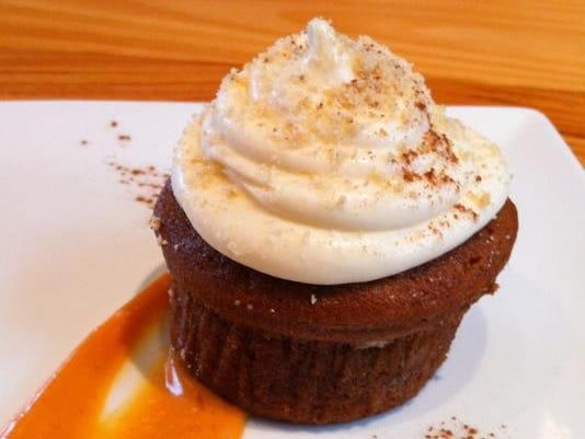 Bluebeard - Sweet Potato Cupcake