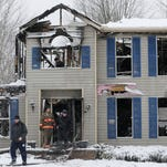 PHOTOS | House explosion in Northfield Center