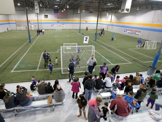 The CR Sports facility in Canutillo features three