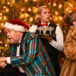 """Centre Stage's """"Let It Snow"""" opens Thursday, Dec. 3 for 11 performances through Dec. 19. Pictured are, left to right, Susan Lyle, Rod McClendon, Tony Glass, DeAna Earl Thomas and David Bean."""