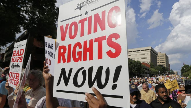 The Supreme Court ruled Monday that 28 North Carolina legislative districts were drawn with a racial motive, but it did not order special elections.