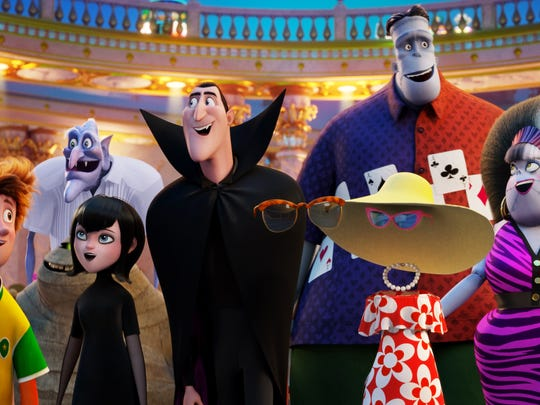 "The gang is back in ""Hotel Transylvania 3: Summer Vacation."""