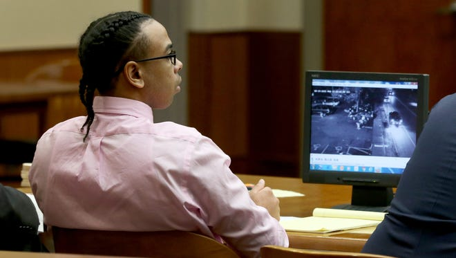 The first day of testimony in the Johnny Blackshell murder trial on Wednesday.