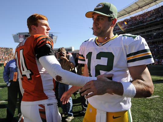 2013 - Aaron Rodgers, Andy Dalton