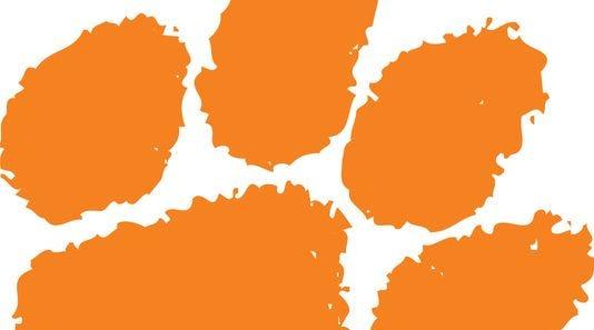 Clemson logo.