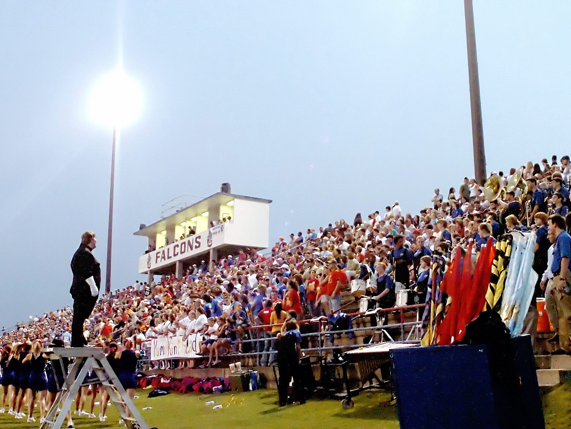 """Lincoln County's Meadows-Thompson Stadium, also referred to as """"The Pit"""""""