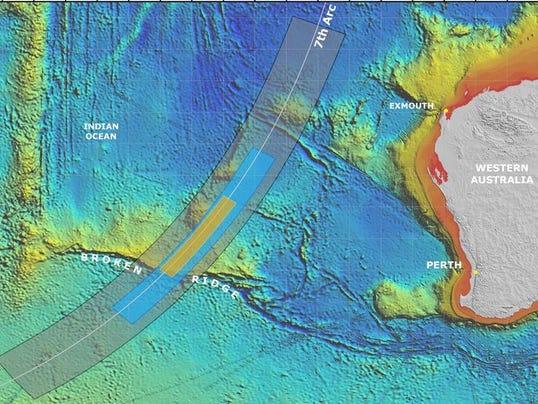 7th arc search_MH370