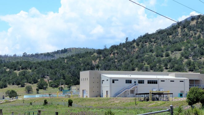 The $32 million regional wastewater treatment plant serves the communities of Ruidoso and Ruidoso Downs, as well as portions of the Mescalero Apache Reservation.