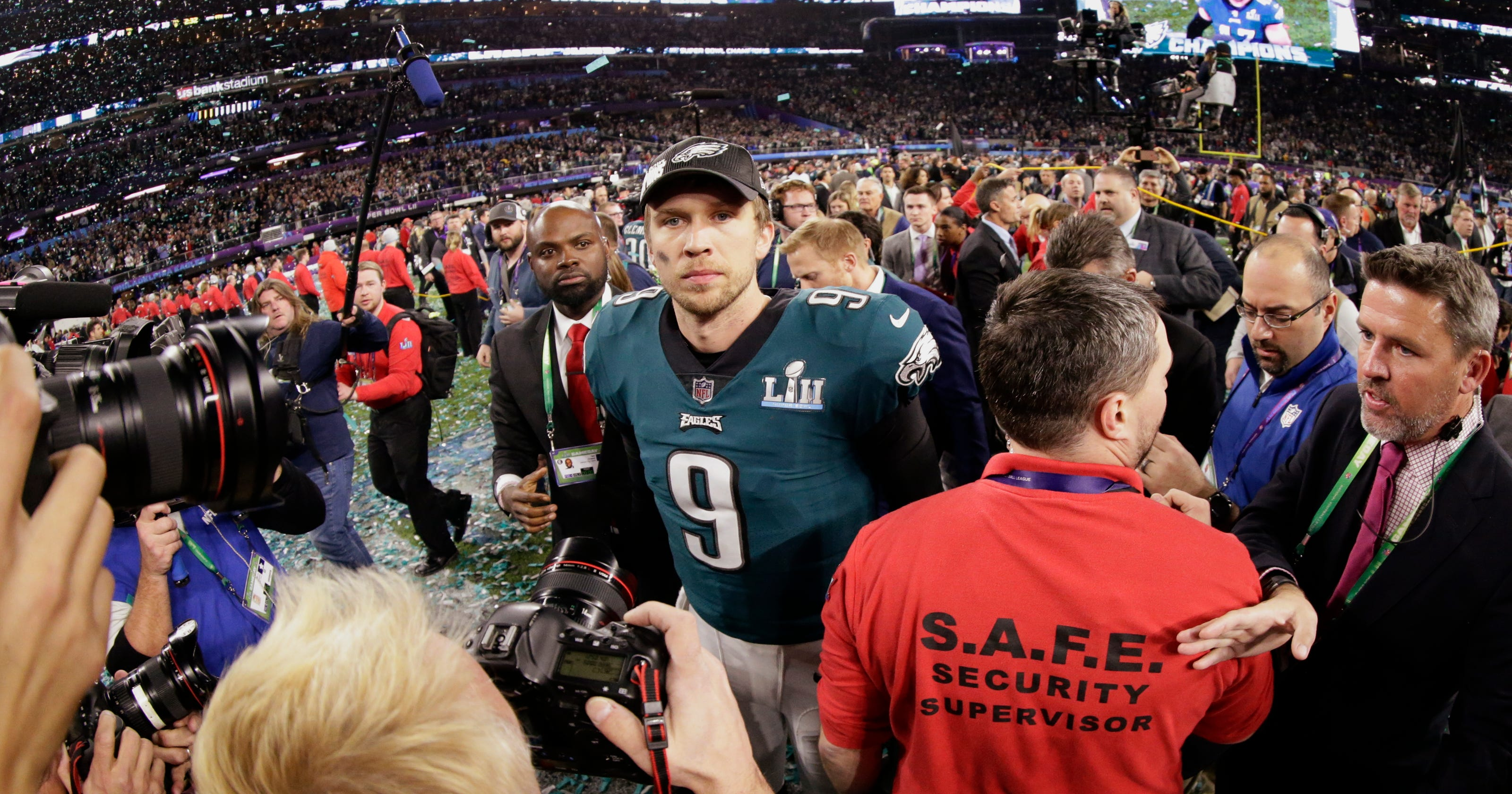 5782a63a657 Nick Foles a Super Bowl MVP and unlikely folk hero in Philly