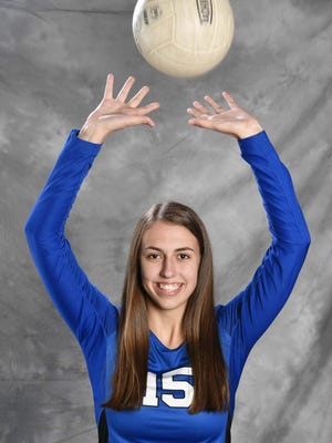 All-Midstate volleyball Tori Carpenter, Brentwood Thursday Nov. 16, 2017, in Nashville, TN