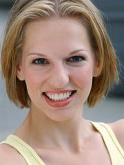 """Montclair resident Annie Ellertsen plays Grover in the current tour of """"Sesame Street Live."""""""