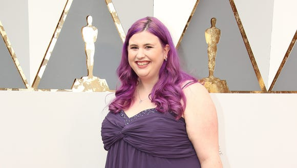 I'm 90% sure I was the only one on the Oscars red carpet