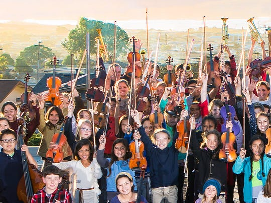 Members of Orchestra in the Schools