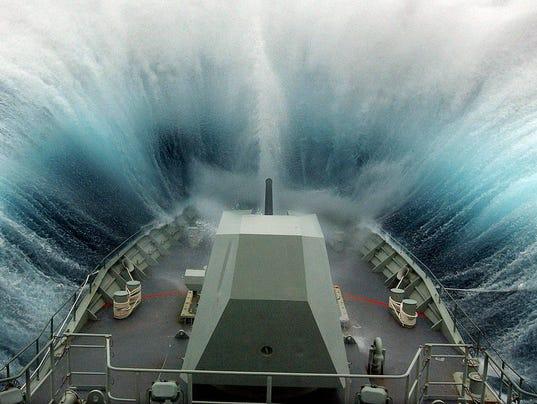 AFP AUSTRALIA-URUGUAY-FISHING-NAVY-ARREST-04 CLJ CRIME AT