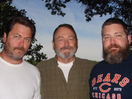 The Offerman men: Nick Offerman and his brother Matt