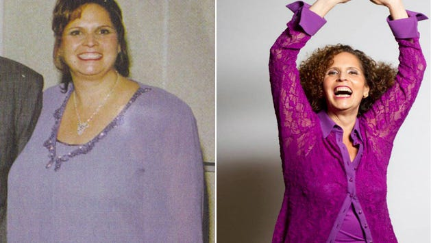 Marcia Meislin used to weigh about 300 pounds and struggled with food addiction. She lost more than 130 pounds and seeks support to keep it off.