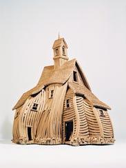 Burlington artist John Brickels is best known for his