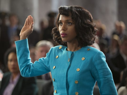 """Kerry Washington portrays Anita Hill in the HBO film """"Confirmation."""" The film will air in April."""