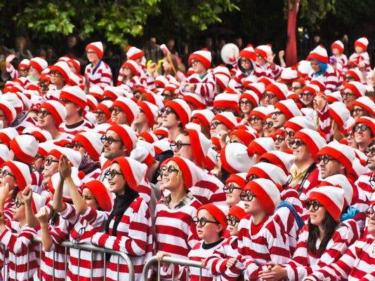 Largest gathering of people dressed as Wally/Waldo